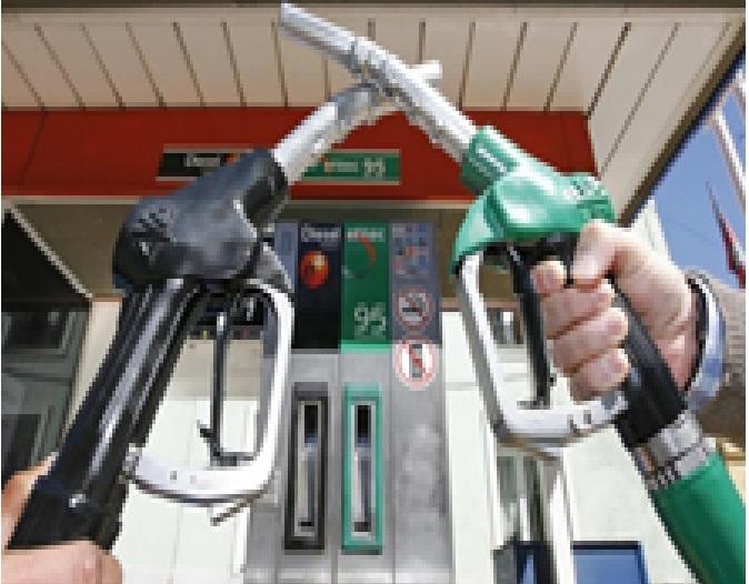 Figura 3 Ejemplo de combustible líquido gasolina