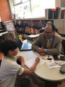 Fig 9 Entrevista al Ing. Germán Montoya