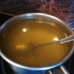 . Infusión de manzanilla con grenetina