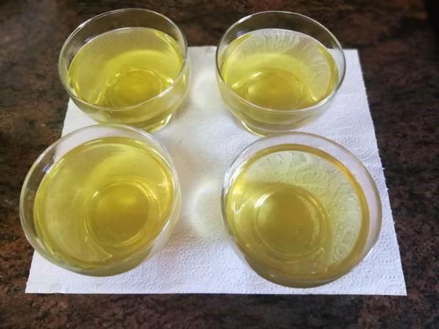 Gelatina de manzanilla