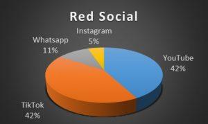 Figura 1. ¿Cuál es la red social qué más utilizas?