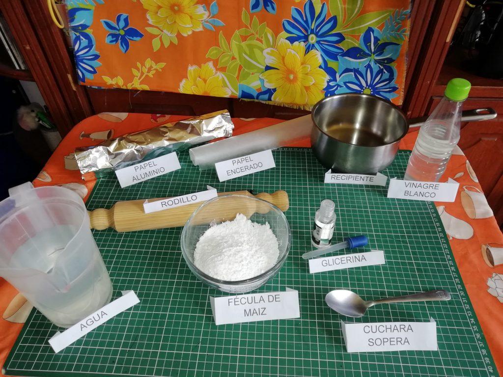 1 .- Materiales