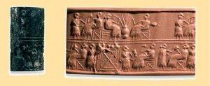 Figura 1.- Tabla de Sumerios y Babilonios.